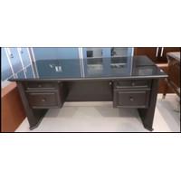 Meja direktur meja kerja kantor besar 160 makassar murah kayu mdf