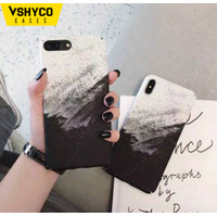 Black Gradient Sand Painting Case Oppo A31 A5 A9 2020 A3S A57 A39