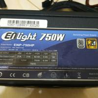 Psu Enlight 750w 80+ Silver Not hexa super flower antec corsair