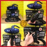 Handy Vacuum Cleaner Mini + Blower 2in1 Idealife IL-130 Garansi 1 Thn