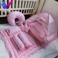 set kasur bayi baby nest , beddingset , kelambu bayi dan bansui