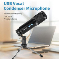 Microphone/Mic condenser usb vocal Recording Podcasting Laptop Pc