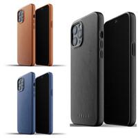Full Leather Case iPhone 12 Pro Max Mujjo Premium Casing Apple