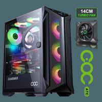 GAMEMAX BRUFEN C1 - TEMPERED GLASS ARGB COC SYSTEM GAMING ATX CASE