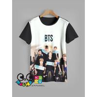 kaos anak BTS baju anak BTS v1