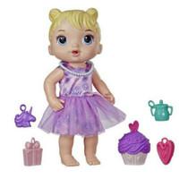 Boneka Baby Alive Party Present Blonde Hair Doll Mainan Anak