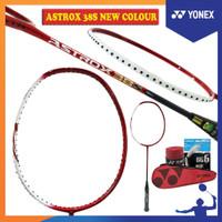 Raket Badminton YONEX NEW COLOUR ASTROX 38S +paket lengkap+pasang ORI