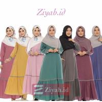 Ziyah.id l Gamis Asiyah Daily Syari Casual Trendy