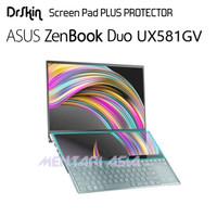 Screen Pad Protector ASUS ZenBook Duo UX581GV - DrSkin PREMIUM Clear