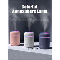USB Colorful Humidifier Diffuser Aromaterapi Pelembap ruang- lampu Tdr