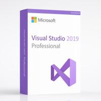 Visual Studio 2019 Professional Lifetime Licence Original
