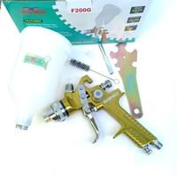WIPRO F200G Spray gun 1.4mm HVLP tabung Atas 600cc - Alat Semprot Cat