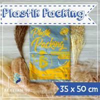 PLASTIK HD TANPA PLONG 35X50 CM / PLASTIK PACKING ONLINE