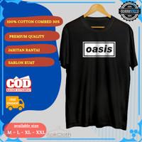 Tshirt Baju Kaos Musik Band OASIS Rock Metal 90an Super Premium murah