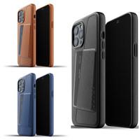 Full Leather Wallet Case iPhone 12 Pro Max Mujjo Premium Casing Apple