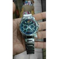 jam tangan Alba chronograph stainle steel jam pria