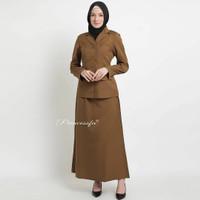 Seragam PDH/Seragam PNS/Blazer PNS/Baju Pemda/Blazer Pemda (coklat tua