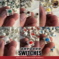 GATERON Mechanical MX Switch for Mechanical / Hotswap Keyboard