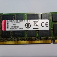 memory/Ram 16gb PC3 12800R Untuk Server