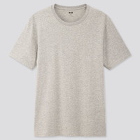 UNIQLO Kaos Pria Supima Cotton Crew Neck T-Shirt / Kaos Polos Pendek