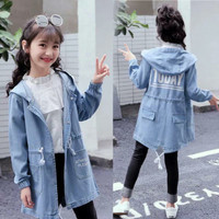 baju anak - outer anak perempuan - jaket anak perempuan korea - KI