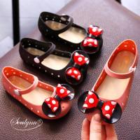 Star Anugerah Sepatu Anak Perempuan Flat Shoes Minnie BOW Jelly Shoes
