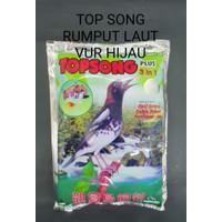 TOP SONG RUMPUT LAUT PLUS 3 in 1 TOP SONG HIJAU PAKAN BURUNG KICAU