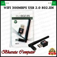 USB WIFI DONGLE (USB WIRELESS) 802.IIN + ANTENNA 300MBPS