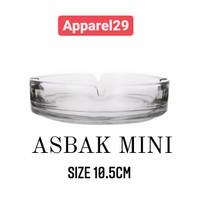 Mini Asbak kaca Asbak Kecil Ashtray Mini Glass