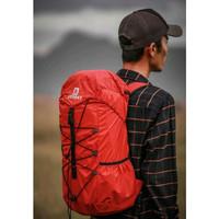 Reines Tas Gunung Lipat Hiking Camping Waterproof Backpack28L - Hitam