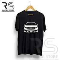 Kaos T-Shirt Mobil Wuling Almaz Front - kaos otomotif