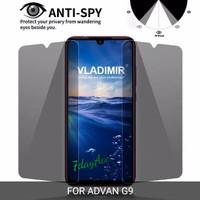 ADVAN G9 TEMPERED GLASS ANTI SPY ANTI GORES KACA GELAP