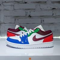 Sepatu NIKE AIR JORDAN 1 Low Multicolor - 39