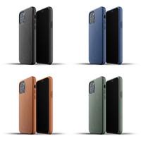 Full Leather Case iPhone 12 & 12 Pro Mujjo Premium Casing Apple