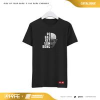 T-Shirt Half Face Pebasket Sombong - Pebasket Sombong X HYPE