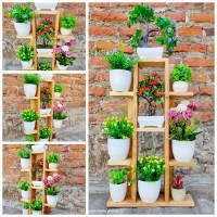rak bunga susun/rak tanaman minimalis /rak pot bunga