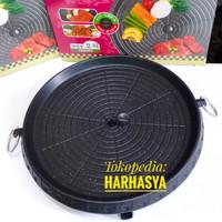 Bulgogi pan 32 cm/korea grill pan/alat panggang barbeque BBQ/hanaro