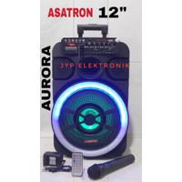 SPEAKER PORTABLE ASATRON AURORA 12 (12inc , USB , bluetooth) ORIGINAL