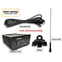 PAKET ANTENA RADIO RIG UNTUK TRUK PLUS CONVERTER GP AKAI