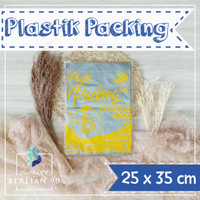 PLASTIK HD TANPA PLONG 25X35 CM / PLASTIK PACKING ONLINE