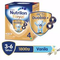 Nutrilon Royal 4 Susu Pertumbuhan 4-6 Thn Vanilla 1800gr ActiDuobio+