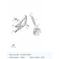 Bos Swing Arm 90387-15819 Xeon