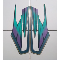 stiker striping motor yamaha rx king 1995 biru