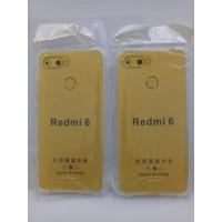 Anticrack Xiaomi Redmi 6 / Redmi 6A Transparan / Softcase Redmi 6 / 6A