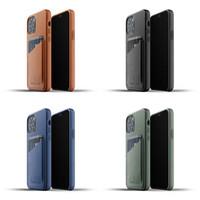 Full Leather Wallet Case iPhone 12 & 12 Pro Mujjo Premium Casing Apple
