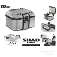 BOX MOTOR SHAD TERRA TR48 Alumunium Top Box + Baseplate