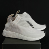 Adidas NMD CS2 City Sock Grey White / Sepatu Cewe Wanita / Slip On