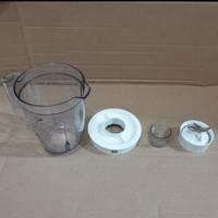 gelas blender philips hr-2102/hr-2106/ hr-2108 ori jar/jus blender