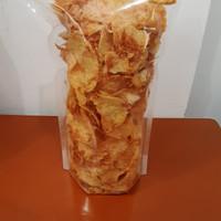 Keripik kentang ebi bawang rasa pedas