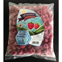 [500 gr] Frozen Raspberries / Rasbery Beku / Raspberries / Buah Beku